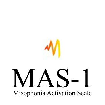 Schriftzug MAS-1 - Misophonia Activation Scale