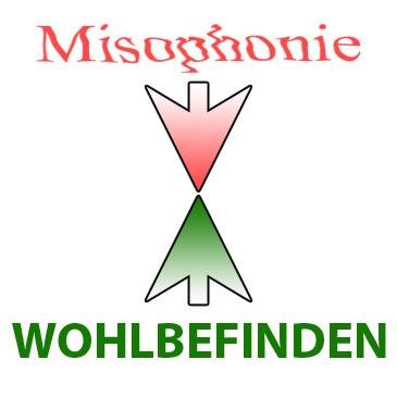 Schriftzug Misophonie & Gesundheit
