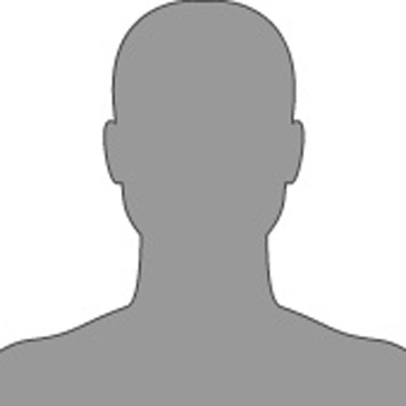 Silhouette eines männlichen Kopfes