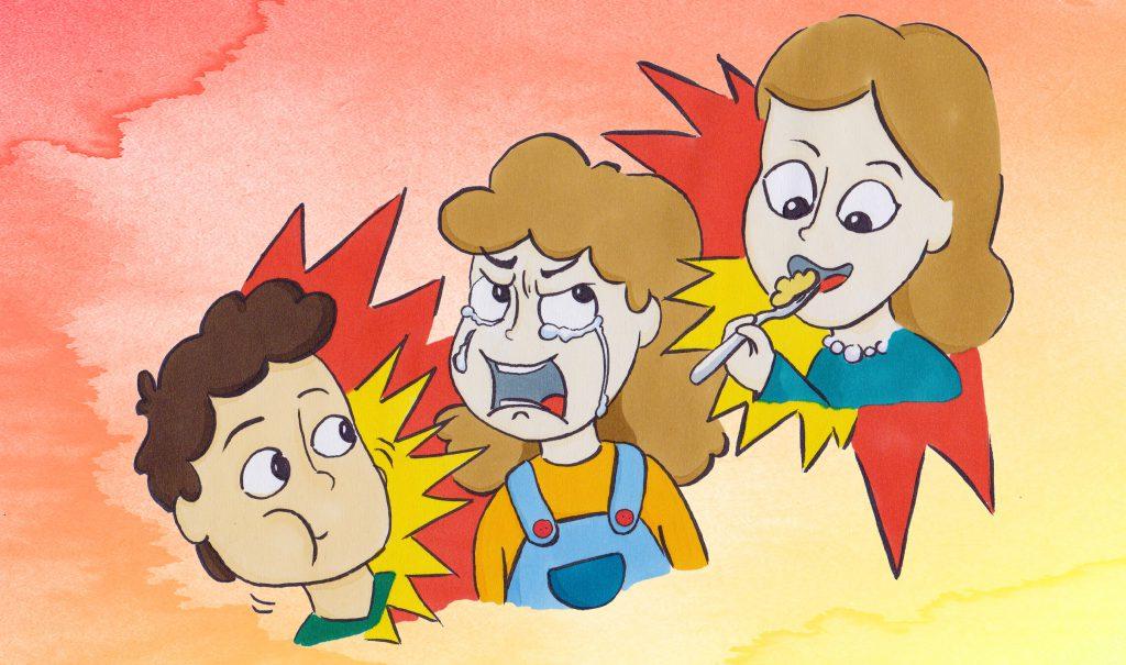 Als Misophoniker nimmt man ganz normale Essgeräusche als quälend und Wutinduzierend wahr.