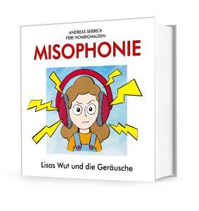 """Buchcover """"Misophonie - Lisas Wut und die Geräusche"""""""