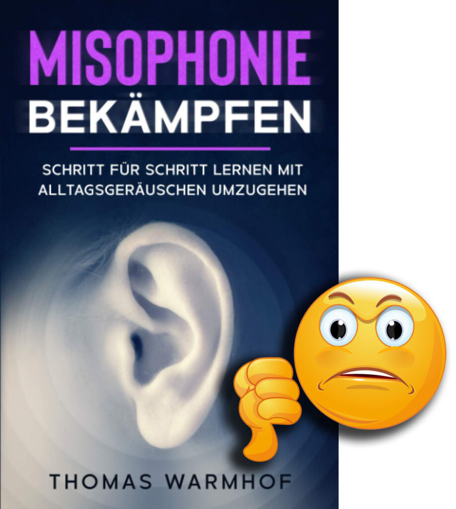 """Cover """"Misophonie bekämpfen"""" mit Bewertung"""